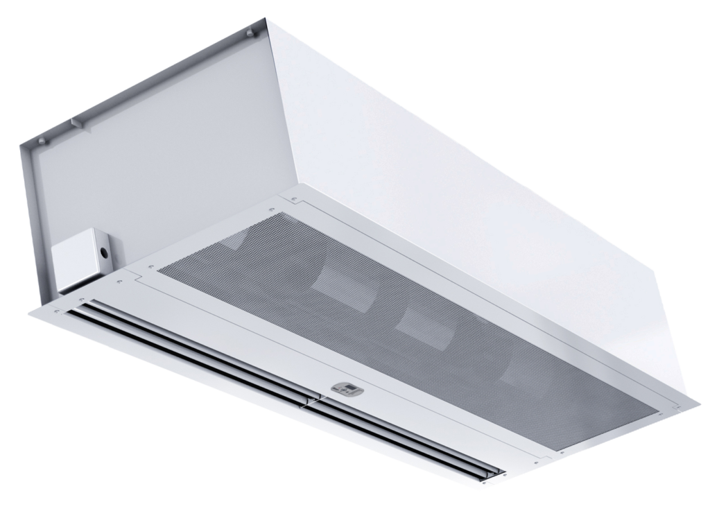Berner's Architectural Recessed 12-16 air curtain.