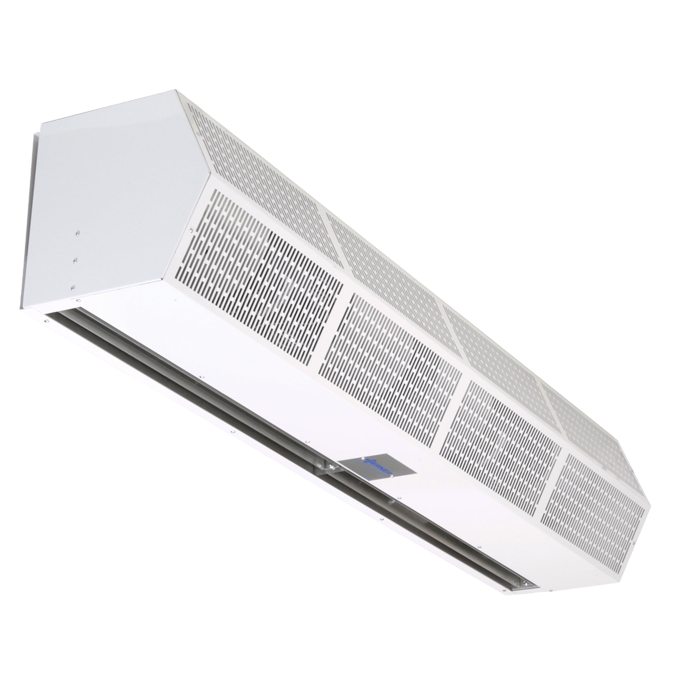 Berner's Sanitation Certified High Performance 7 air curtain white product image.